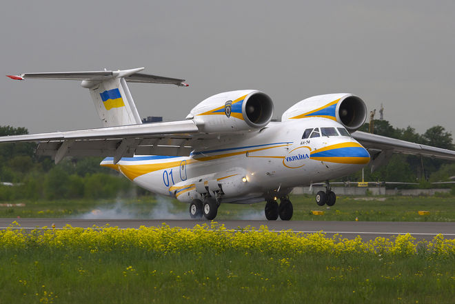 В Харькове построят для Казахстана Ан-74