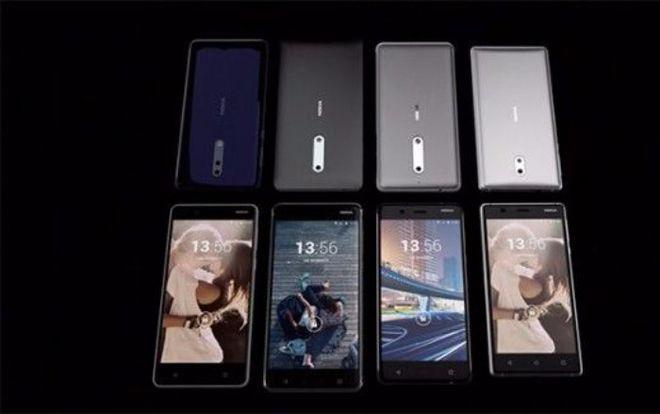 Nokia анонсировала выход четырех новых смартфонов