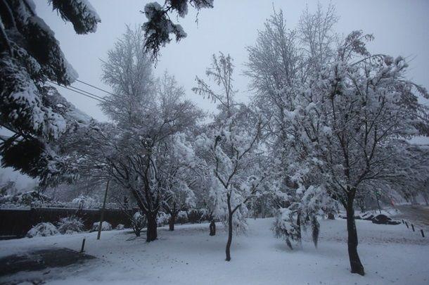 Чили накрыл сильнейший за 10 лет снегопад