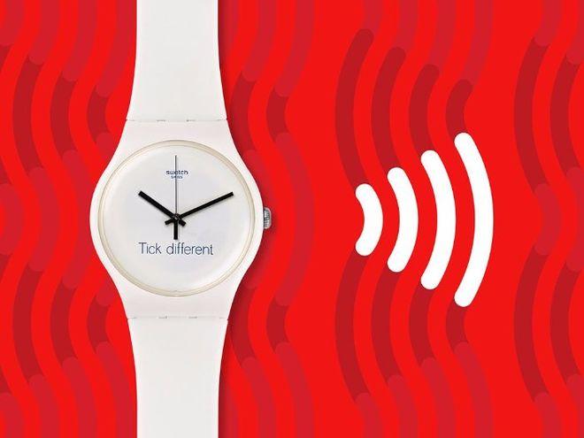 Компания Swatch разработала часы для бесконтактных платежей