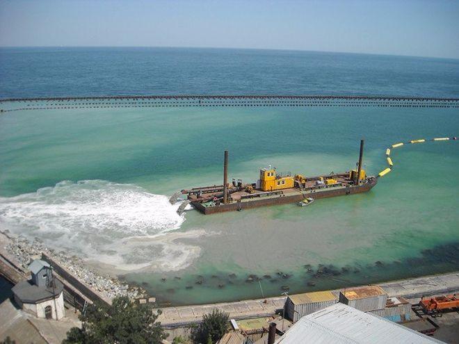 В АМПУ пообещали рекордные объемы дноуглубления в морских портах