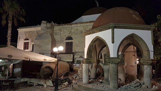 Число пострадавших при землетрясении на острове Кос превысило 120 человек