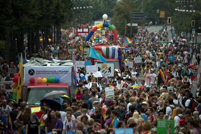 В столице Германии прошел 39-й гей-парад