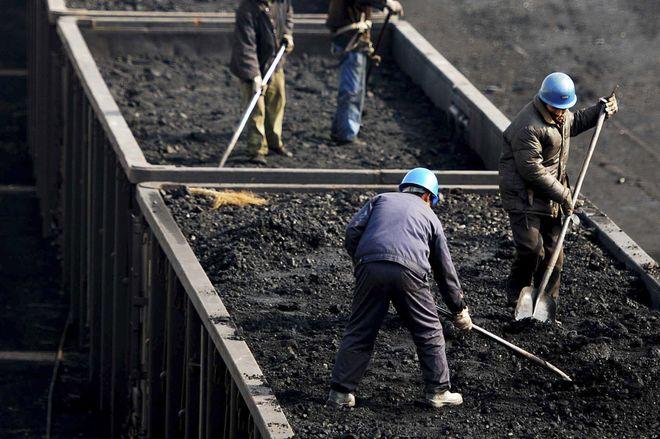 Добыча угля в Украине выросла на 8,7%