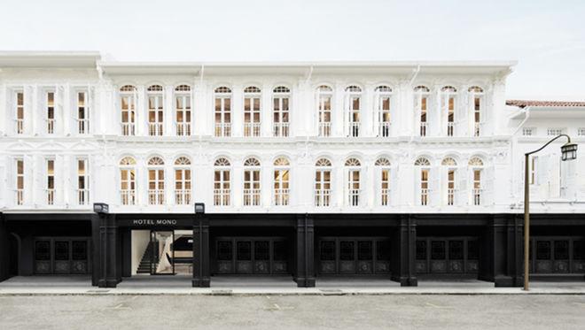 В Сингапуре появился черно-белый отель