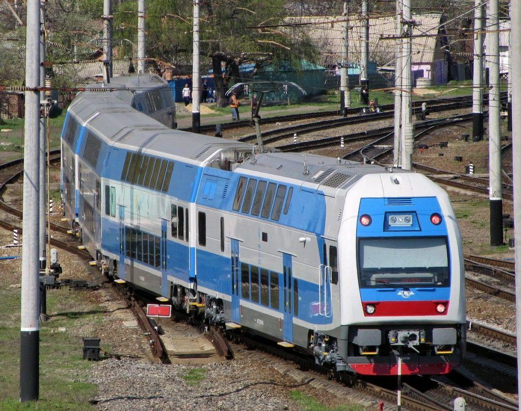 Из Харькова в Киев можно будет доехать на двухэтажном поезде