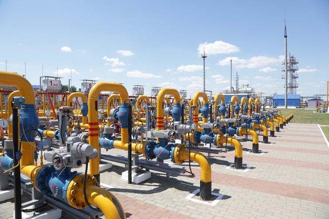 Запасы газа в подземных хранилищах Украины выросли на 61,3%