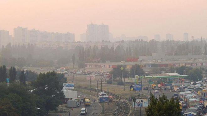 Уровень загрязнения воздуха в Киеве превысил норму в несколько раз