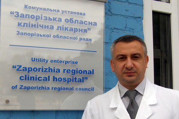 Задержали главного врача Запорожской областной больницы