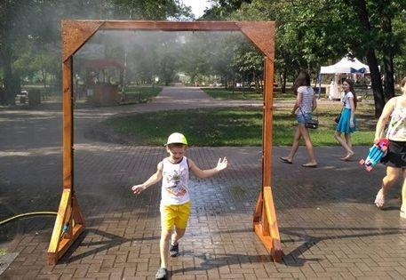 В Киеве придумали, как бороться с жарой