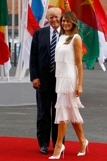 Как выглядят самые модные супруги мировых лидеров