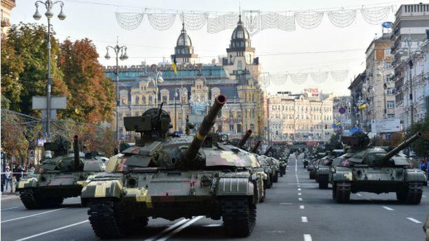 Центр Киева перекроют из-за репетиции парада
