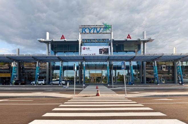Начальник полиции аэропорта Киев погорел на взятке