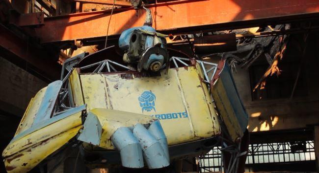 """В Одессе из старых """"Запорожцев"""" сделали робота"""