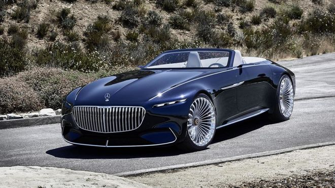Maybach представил самый роскошный кабриолет в мире