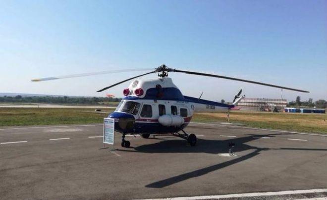"""""""Мотор Сич"""" представила вертолет собственного производства"""