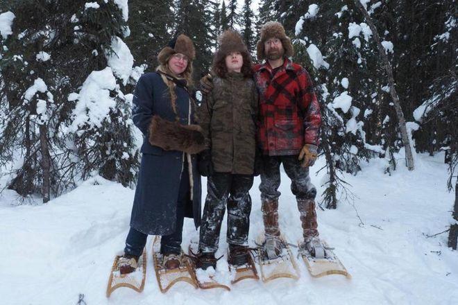 На Аляске вот уже 18 лет живет семья отшельников