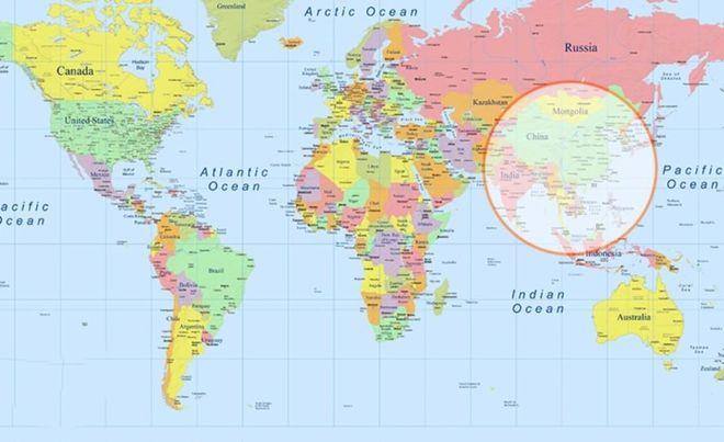 Как выглядят самые удивительные карты мира