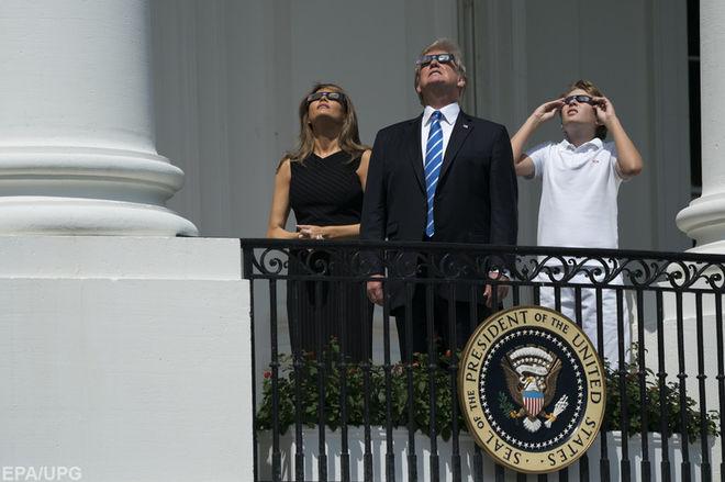 Солнечное затмение в США: самые лучшие фото и видео