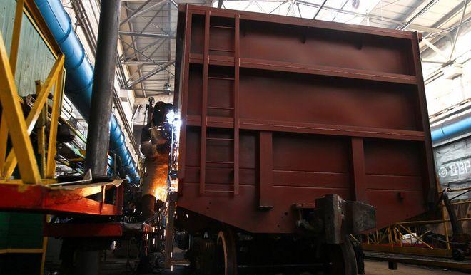 «Укрзализныця» произвела уже более 1000 вагонов