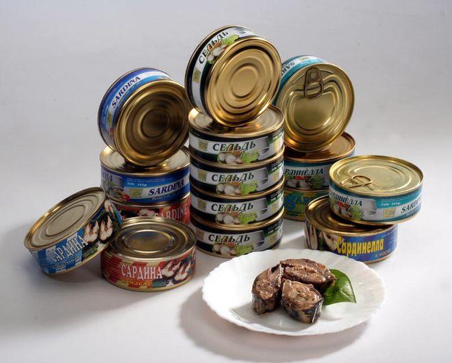 Украинский рынок рыбных консервов вырос на 18%