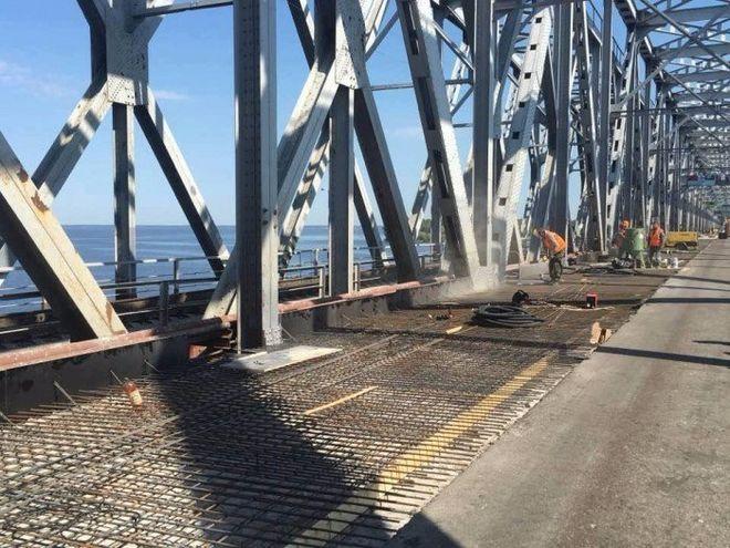 Стало известно, когда отремонтируют мост через Днепр в Черкассах