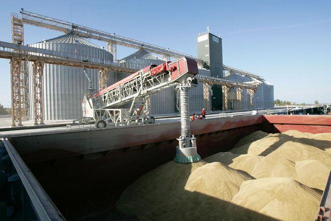 В Украине строят более 30 зерновых терминалов