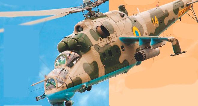 Украина заменяет российские комплектующие в вертолетах Ми