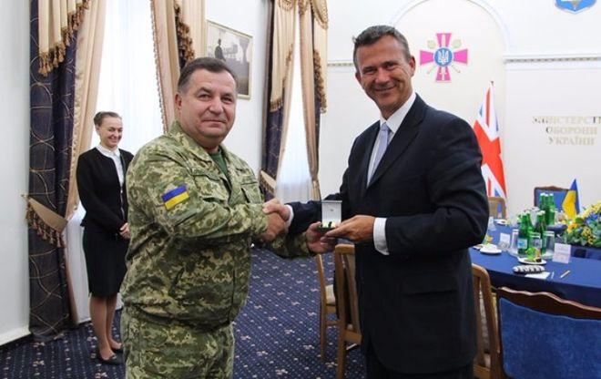 Британия продолжит помогать украинской армии