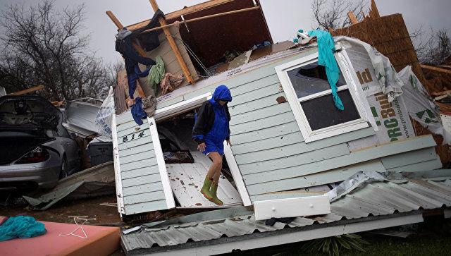 """В США число жертв урагана """"Харви"""" уже достигло 47 человек"""