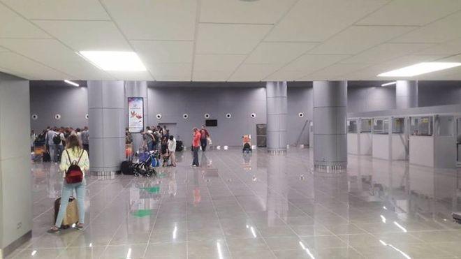 Новый терминал Одесского аэропорта начал принимать международные рейсы