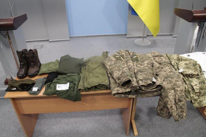 В Минобороны показали новую зимнюю форму для военных