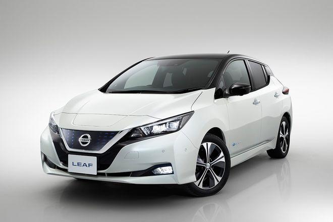 В Токио официально представили обновленный Nissan Leaf