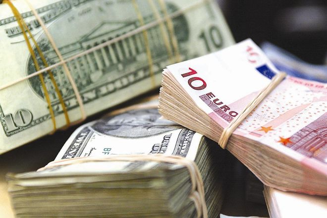 Курс евро незначительно вырос