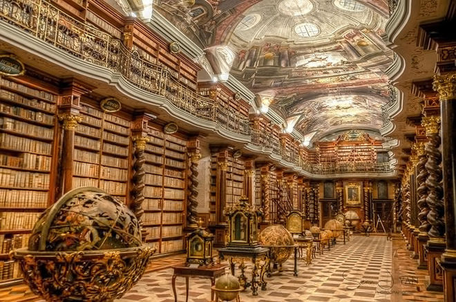 Опубликованы фото самой красивой библиотеки в мире