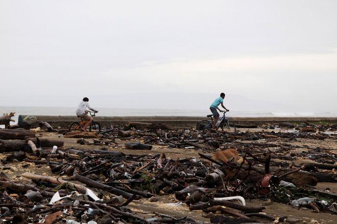"""Опубликованы фото последствий урагана """"Ирма"""" в Доминиканской Республике"""