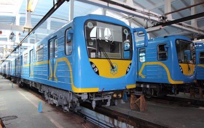 В киевском метро появится арт-поезд