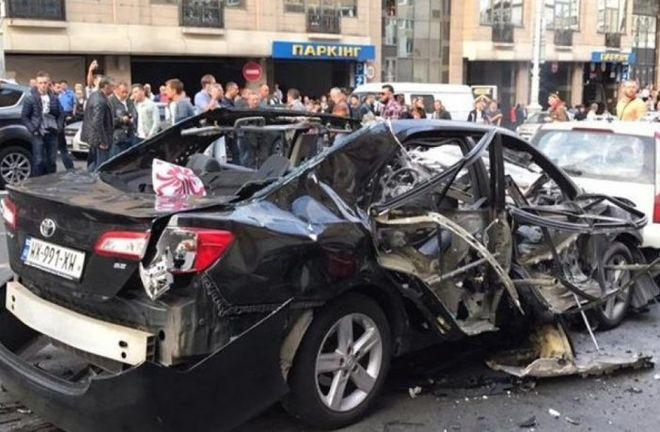 Обеспеченные киевляне активно раскупают бронированные авто после взрыва в центре