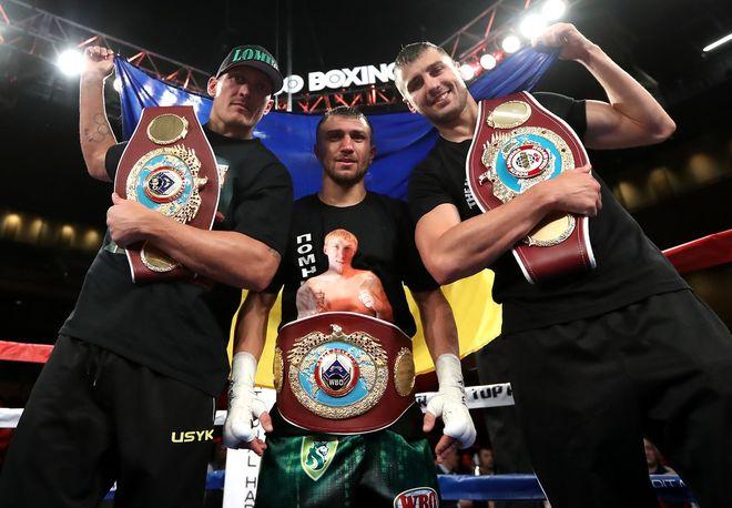 Усик, Ломаченко и Гвоздик поднялись в рейтинге лучших боксеров мира