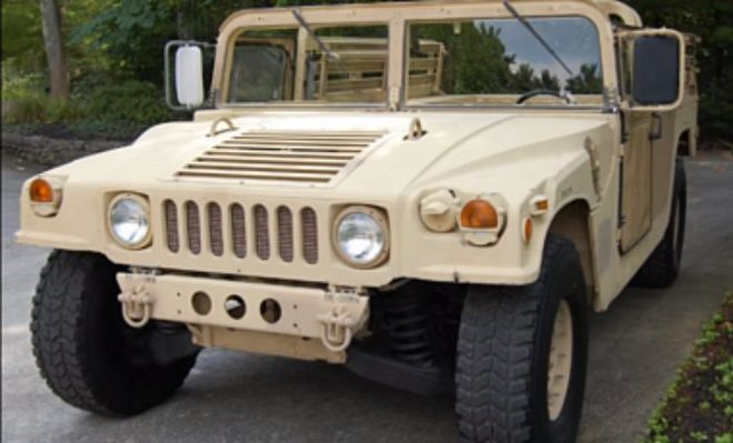 Американцы поставят в Украину крупную партию внедорожников Hummer