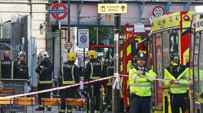 Ответственность за взрыв в Лондоне взял на себя ИГИЛ