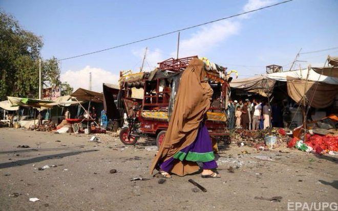 В Афганистане прогремел взрыв на рынке, погибли люди