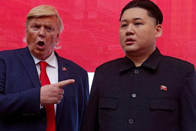 Трамп и Ким Чен Ын назвали друг друга сумасшедшими
