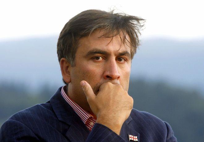 Саакашвили оштрафовали почти на 3,5 тыс грн