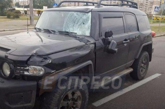 В Киеве произошло страшное ДТП с участием велосипедиста