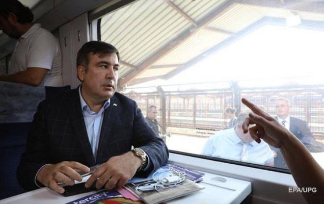 """""""Укрзализныця"""" вернула деньги пассажирам поезда Саакашвили"""