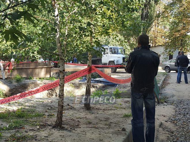 В Киеве нашли обезглавленный труп