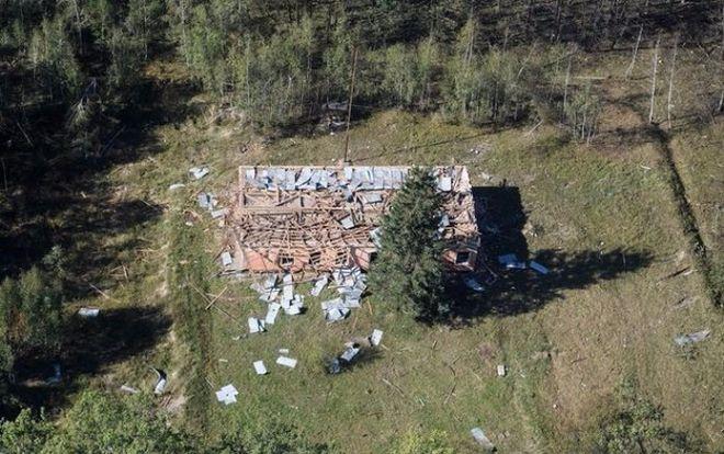 ГСЧС сообщает о полном прекращении взрывов в Калиновке