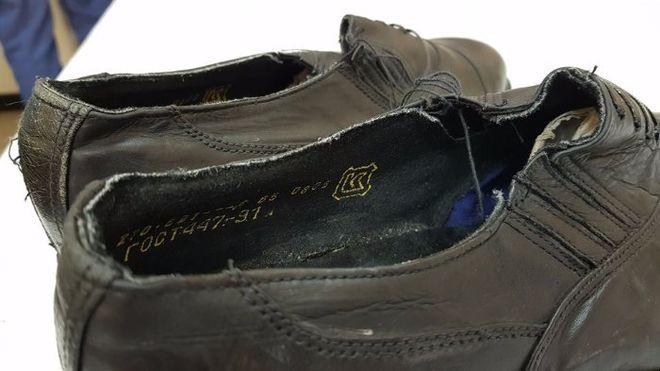 Для украинских офицеров сшили новые туфли