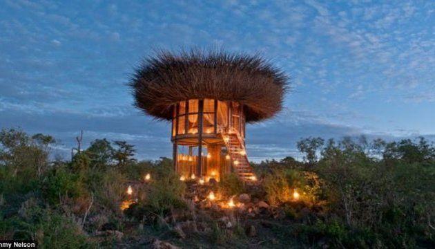 В Кении появился необычный отель